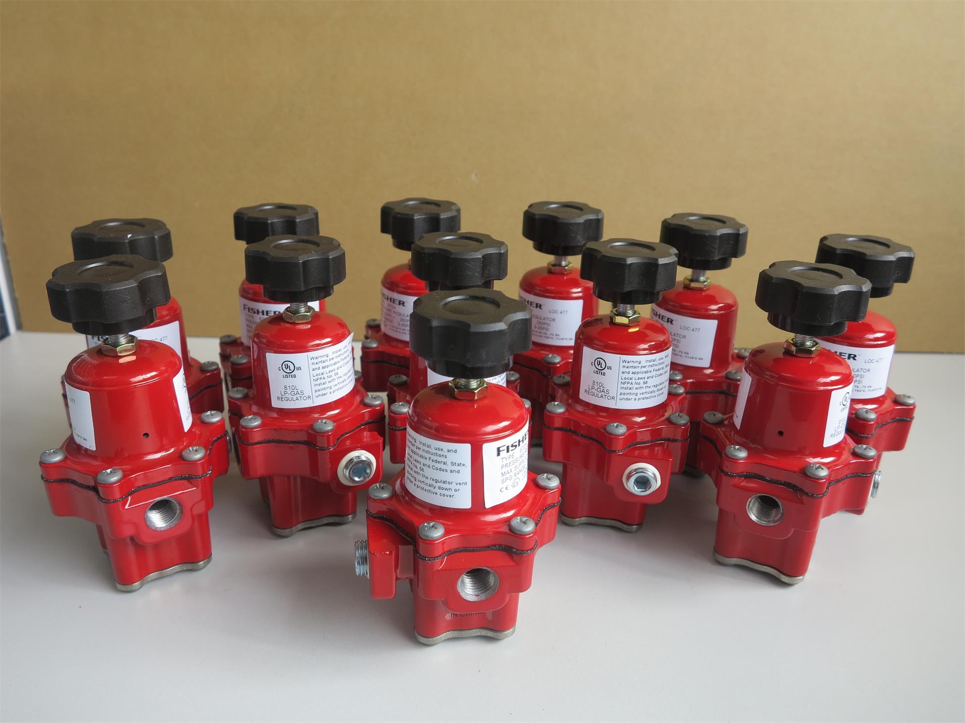 Fisher™67CH-743型减压器